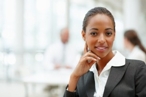 smilingbusiness-woman